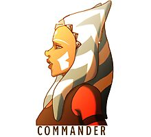 Commander Tano Photographic Print