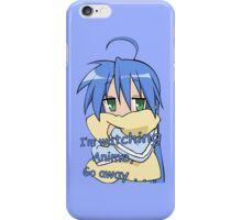 lucky star konata izumi i'm watching anime go away anime manga shirt iPhone Case/Skin
