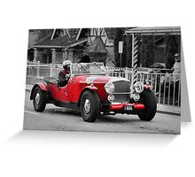 Bentley Mark V Special 1947 Greeting Card