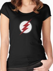 Black Flash Women's Fitted Scoop T-Shirt
