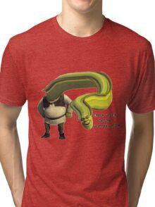 Shrek Yourself Before You Wreck Yourself Shirt Tri-blend T-Shirt