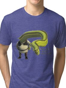 Shrek Yourself Before You Wreck Yourself Shirt Tri-blend T-Shirt