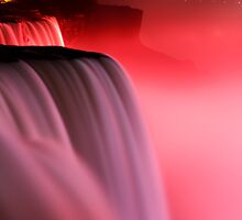 Pink Niagara Falls  by Evgenia Attia