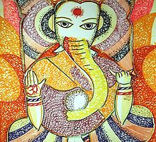 Ganapati (the Lord) by Jai Barve