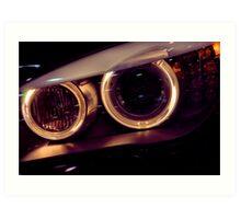 BMW Dynamic Xenon Art Print