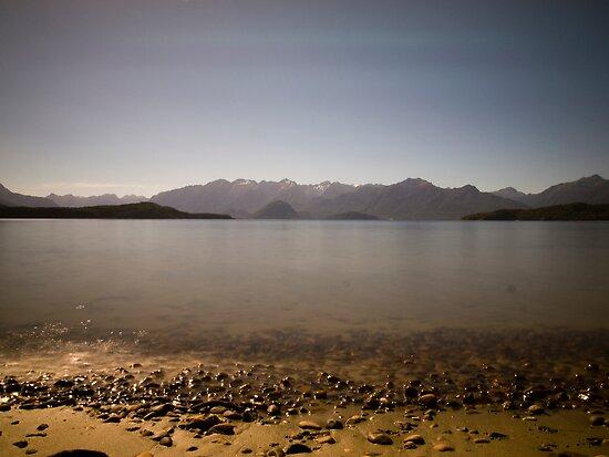 Manapouri - New Zealand by Paul Davis