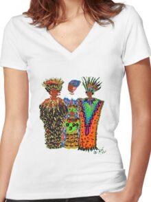 Celebration II T-Shirt Women's Fitted V-Neck T-Shirt