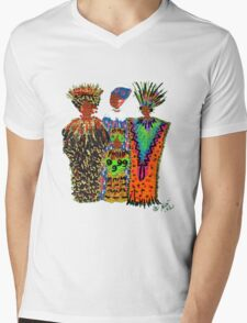 Celebration II T-Shirt Mens V-Neck T-Shirt
