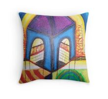 In the name of Religion Throw Pillow