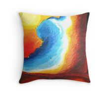 New Wave of New Day Throw Pillow