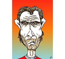 Clint Eastwood Cartoon Caricature Photographic Print