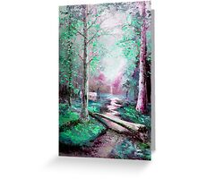 Memory of Woodland Creek Greeting Card