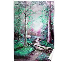 Memory of Woodland Creek Poster
