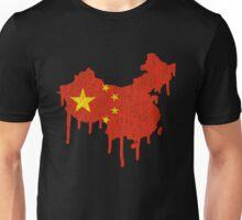 China Paint Drip Unisex T-Shirt