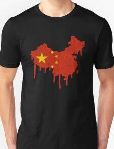 China Paint Drip T-Shirt