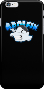 Hey look, Adolfin! by DiarchDesign