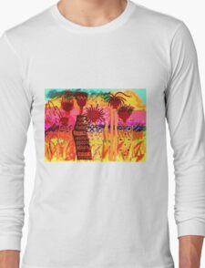 Hawaiian Sisters T-Shirt Long Sleeve T-Shirt