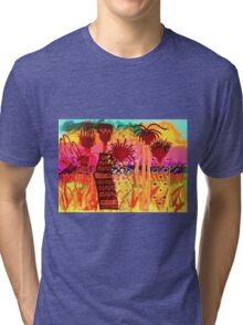 Hawaiian Sisters T-Shirt Tri-blend T-Shirt