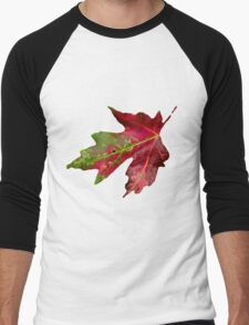 Fall Leaf Men's Baseball ¾ T-Shirt