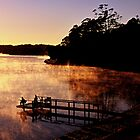 Fishing,Beauty Bay,St Helens by Kip Nunn