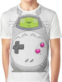 Game Boy Totoro Graphic T-Shirt