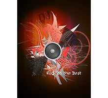 Rock to the beat Photographic Print