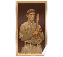 Benjamin K Edwards Collection Matthew McIntyre Chicago White Sox baseball card portrait 001 Poster
