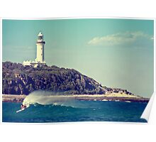 Lighthouse Beach Poster