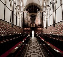 Rochester Cathedral by LadyThegn