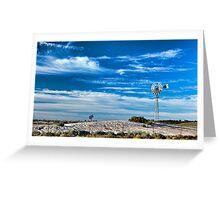 Mungo Morning - Mungo NP, NSW Greeting Card