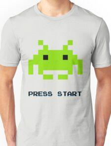 SPACE INVADERS RETRO PRESS START ARCADE TSHIRT Unisex T-Shirt