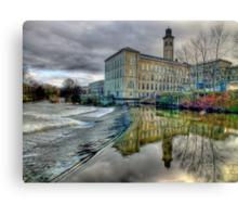 Salts Mill - HDR Canvas Print