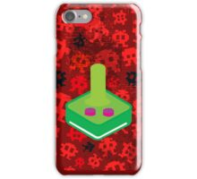 Retro attack iPhone Case/Skin