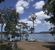 Tooms Lake (Tasmania) boat ramp by gaylene