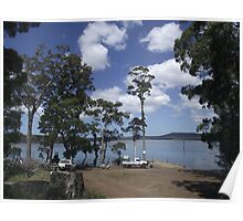 Tooms Lake (Tasmania) boat ramp Poster