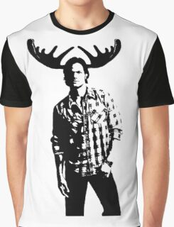 Sam Moose Winchester Graphic T-Shirt