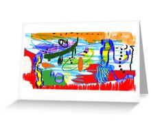 Le cirque Greeting Card