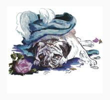 The Marie Antoinette Pug Kids Clothes