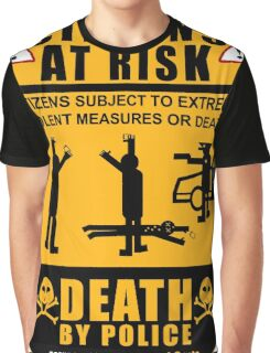 PROTEST ART: Citizens At Risk by tweek9arts.com Graphic T-Shirt