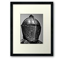 Gilt armour King Charles 1.White Tower,Tower of London Framed Print