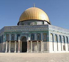 The Dome of the Rock by lizzieskinner