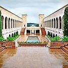 Australian War Memorial - View to Parliament House by TonyCrehan
