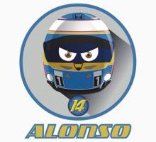 Fernando ALONSO_Helmet 2015 #14 Kids Tee