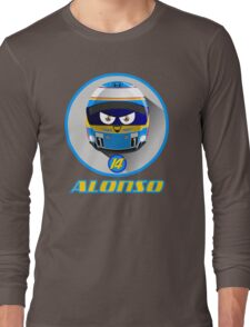 Fernando ALONSO_Helmet 2015 #14 Long Sleeve T-Shirt