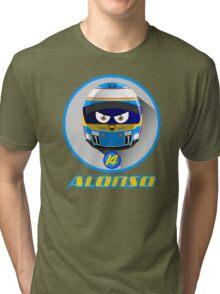Fernando ALONSO_Helmet 2015 #14 Tri-blend T-Shirt