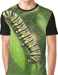 Monarch Caterpillar - Sunset Relaxing Graphic T-Shirt