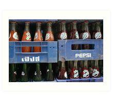 Pepsi Thailand Art Print