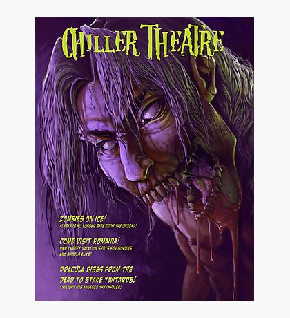 Chiller Theatre Print Photographic Print