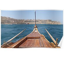 Sailing Valletta Poster