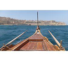 Sailing Valletta Photographic Print